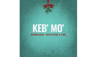 Musik-CD »Moonlight,Mistletoe & You / Mo',Keb'« kaufen