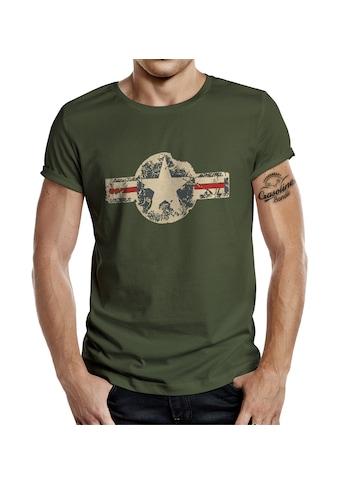 GASOLINE BANDIT® T-Shirt im angesagten Army-Look kaufen