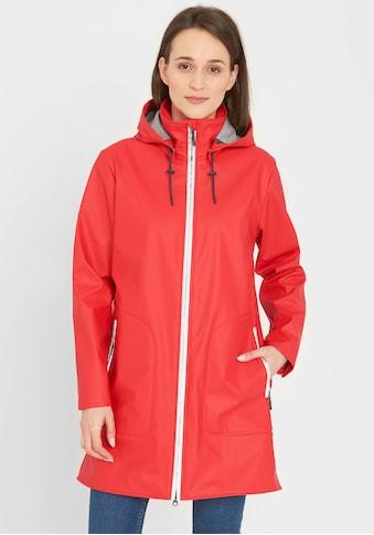 REDGREEN Regenjacke »Silla«, Mit Druckknöpfen versehene Schlitze am Saum kaufen