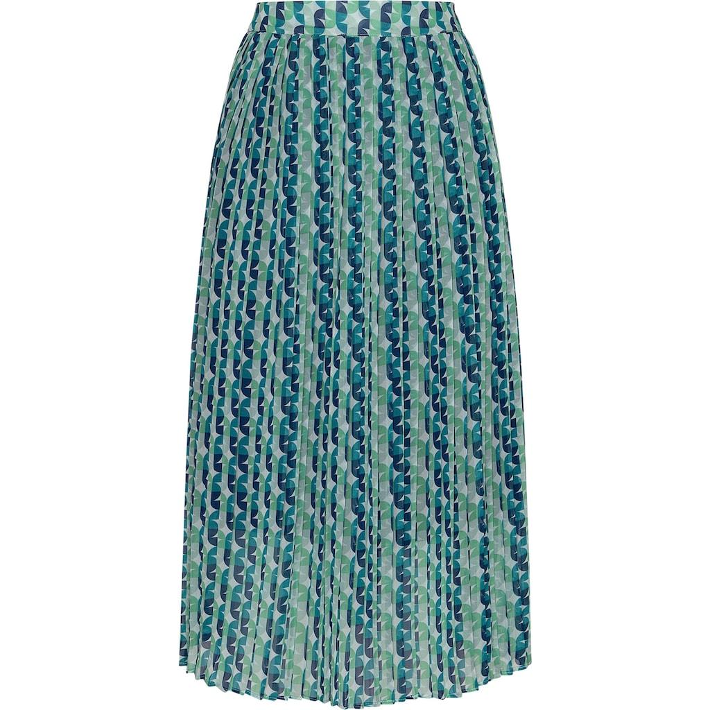 Pepe Jeans Sommerrock »ALBA«, in tollem geometrischen Muster