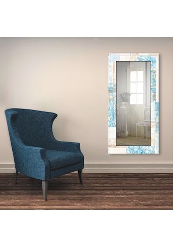 Artland Wandspiegel »Maritimes Holz«, gerahmter Ganzkörperspiegel mit Motivrahmen,... kaufen