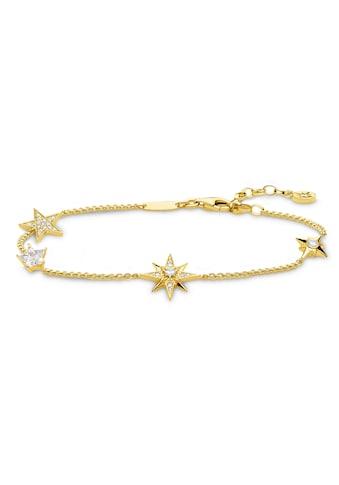 THOMAS SABO Armband »Sterne gold, A1916-414-14-L19v«, mit Zirkonia kaufen