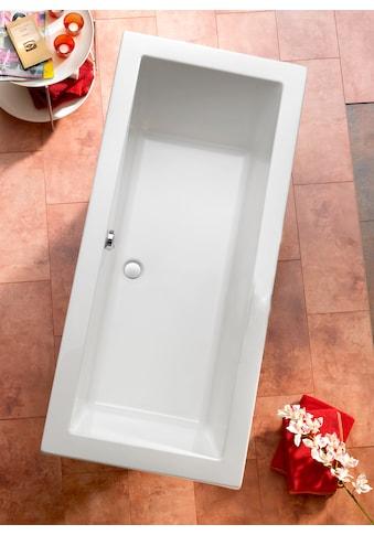 OTTOFOND Badewanne »Cubic«, mit Fußgestell und Ablaufgarnitur kaufen
