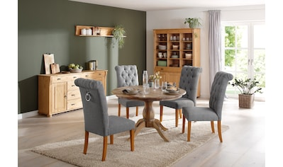 Home affaire Esszimmerstuhl »Liao«, 2er-Set, mit edler Knopfheftung in der Rückenlehne kaufen
