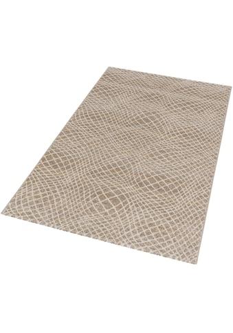 Teppich, »Carpi Gitter«, ASTRA, rechteckig, Höhe 15 mm, maschinell gewebt kaufen