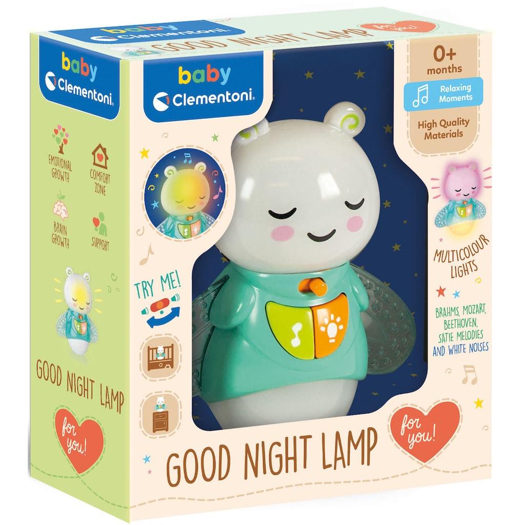 Clementoni® Nachtlicht »Clementoni Baby - Leuchtkäfer«, mit klassischer Musik und weißem Rauschen