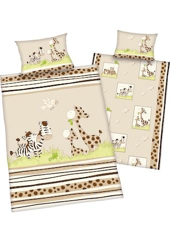 Baby Best Babybettwäsche »Zebra«, mit niedlichem Motiv kaufen