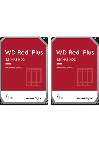 Western Digital externe HDD-Festplatte »WD Red Plus«, 2 x WD Red Plus 4TB kaufen