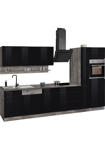 HELD MÖBEL Küchenzeile »Virginia«, mit E-Geräten, Breite 330 cm kaufen