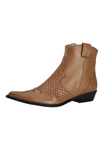 Stiefelette im Cowboy-Stil kaufen