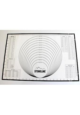 STONELINE Backmatte »2in1«, (1 tlg.), handelsüblichen Backbleche geeignet kaufen