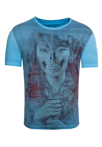 Akito Tanaka Print-Shirt »Geisha Skull«, mit Fotodruck vorne kaufen