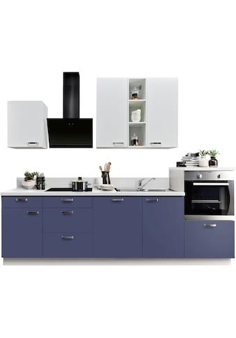 Express Küchen Küchenzeile »Bari«, mit E-Geräten, Soft-Close-Funktion und... kaufen