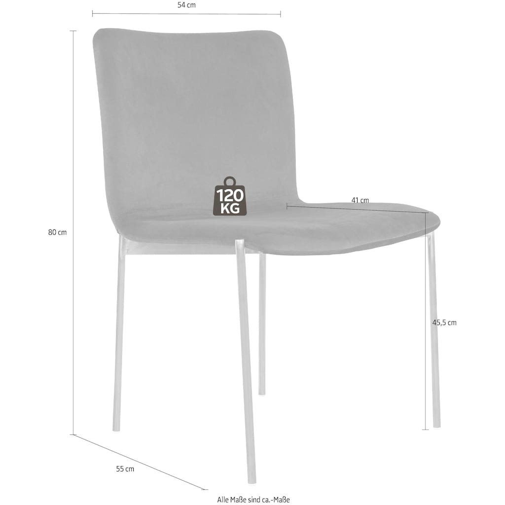 andas Esszimmerstuhl »Jelling«, Design by Morten Georgsen