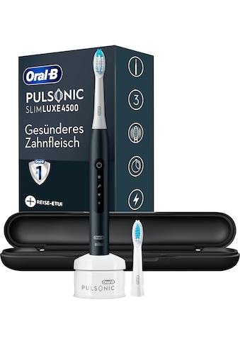 Oral B Schallzahnbürste Pulsonic Slim Luxe 4500, Aufsteckbürsten: 2 Stk. kaufen