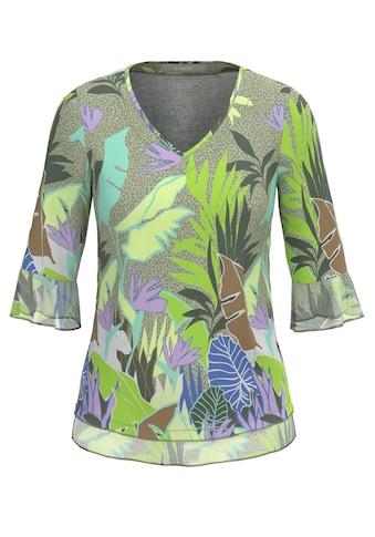 bianca Print-Shirt »ELLY«, im angesagten Jungle-Print und trendigem Volant kaufen