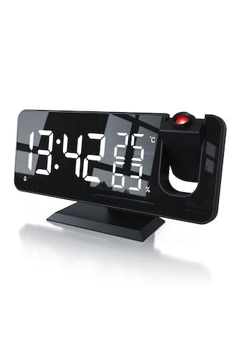 BEARWARE Wecker »Temperatur und Luftfeuchtigkeitsanzeige«, digital mit Autodimmer kaufen