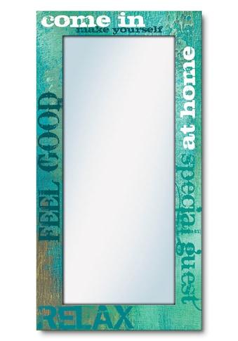 Artland Wandspiegel »Herein«, gerahmter Ganzkörperspiegel mit Motivrahmen, geeignet... kaufen