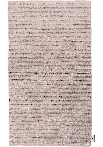 TOM TAILOR Badematte »Cotton Stripes«, Höhe 20 mm, rutschhemmend beschichtet, fußbodenheizungsgeeignet-strapazierfähig, besonders weich und flauschig kaufen