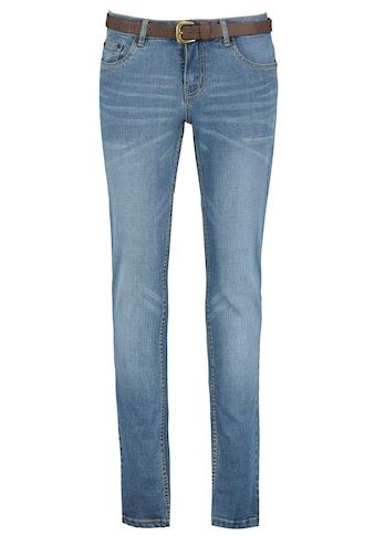 Eight2Nine Slim-fit-Jeans, mit braunem Gürtel kaufen