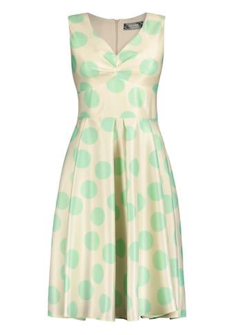 Nicowa Feminines Kleid ERALDA mit Punkte-Dessin kaufen