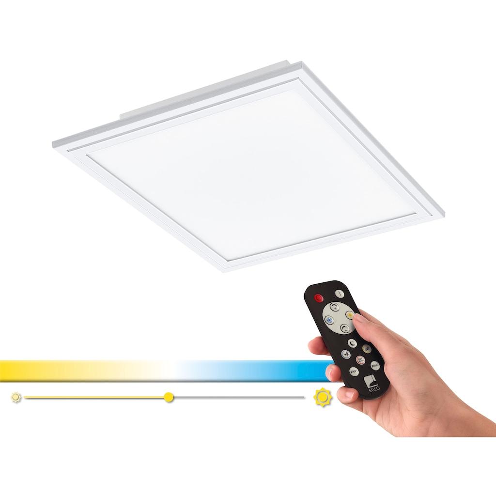 EGLO Deckenleuchte »SALOBRENA-A«, LED-Board, Extra-Warmweiß-Kaltweiß-Neutralweiß-Tageslichtweiß-Warmweiß, Steuerung über Fernbedienung, Nachtlicht