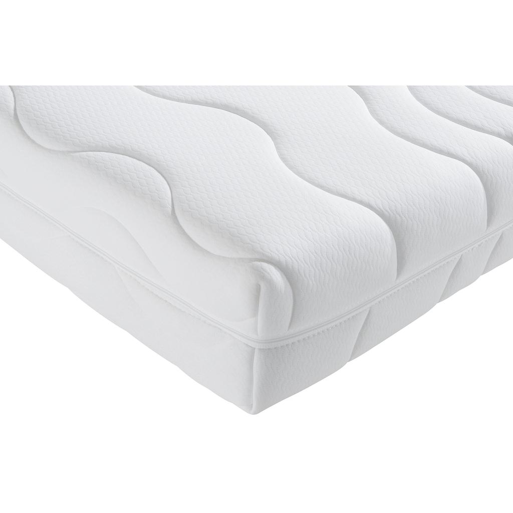 fan Schlafkomfort Exklusiv Gelschaummatratze »ProVita De Luxe 20 KS«, 20 cm cm hoch, Raumgewicht: 30 kg/m³, (1 St.), ca. 4 cm hohe Gelschaumauflage für optimale Druckentlastung