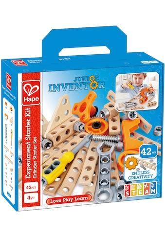 Hape Konstruktions-Spielset »Junior Inventor Erfinder Starter Set«, (42 St.) kaufen