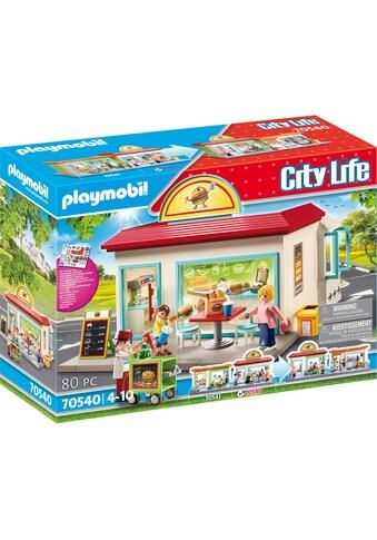 Playmobil® Konstruktions-Spielset »Mein Burgerladen (70540), City Life« kaufen