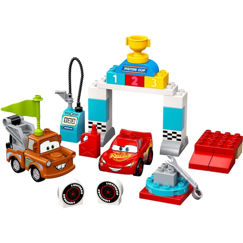 LEGO® Konstruktionsspielsteine »Lightning McQueens großes Rennen (10924), LEGO® DUPLO® & Disney Cars™«, (42 St.)