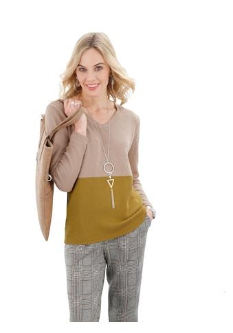 Ambria V-Ausschnitt-Pullover »Pullover« kaufen