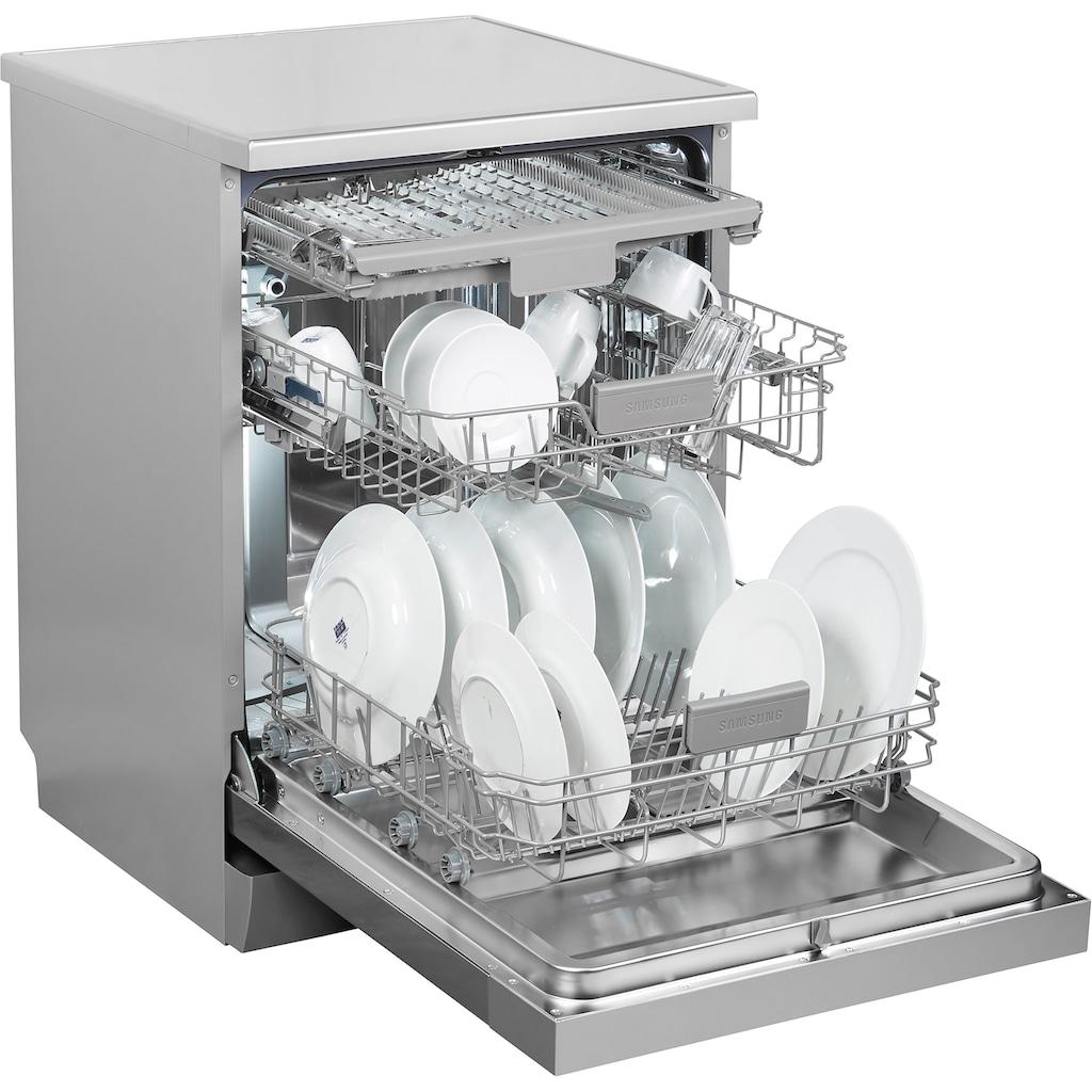 Samsung Standgeschirrspüler »DW60M6050FS/EC«, DW5500, DW60M6050FS, 14 Maßgedecke, Besteckschublade