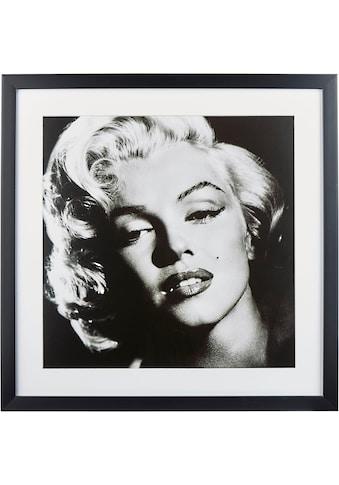 G&C Bild »Celebrities: Marilyn Monroe«, 40/40 cm, gerahmt kaufen