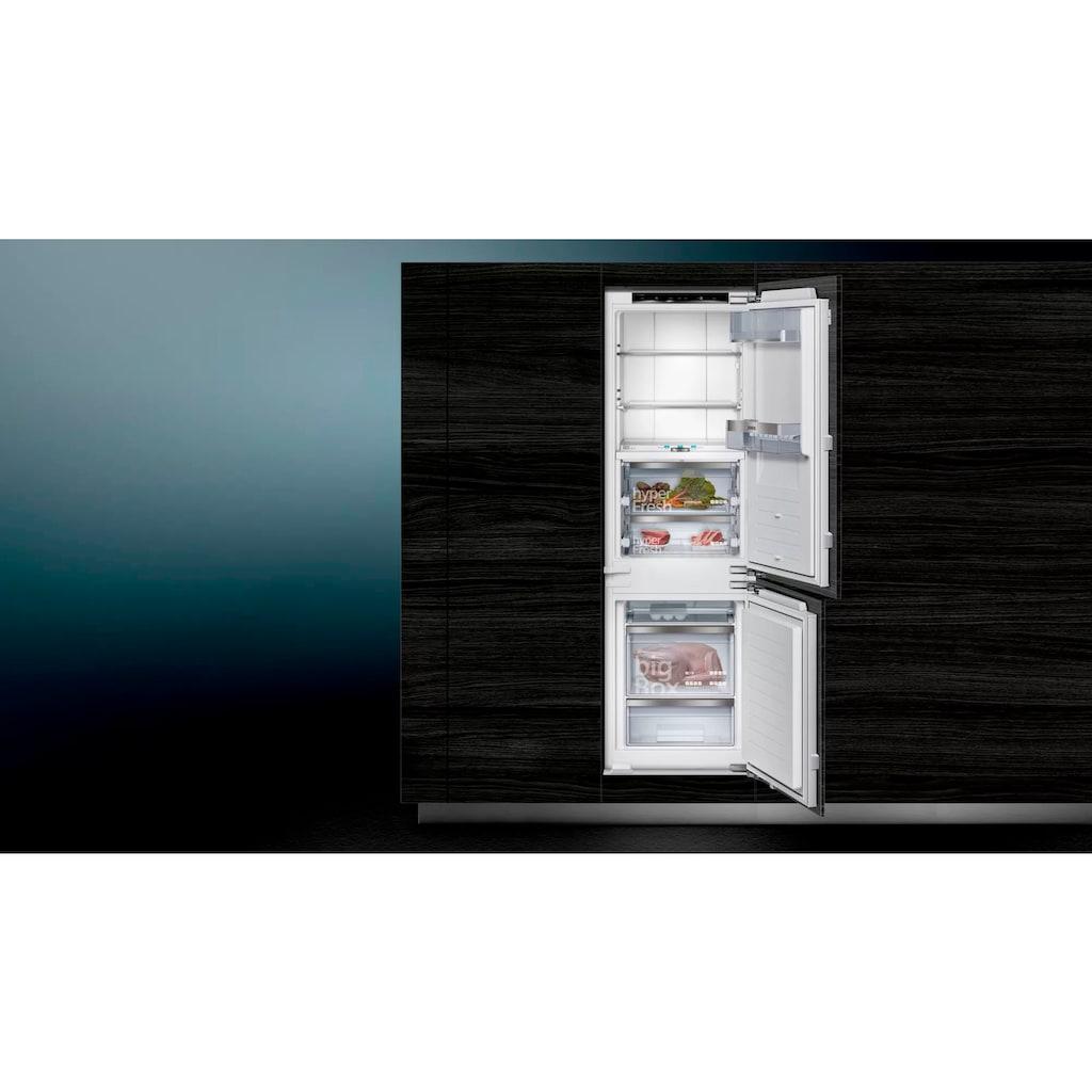 SIEMENS Einbaukühlgefrierkombination »KI84FPDD0«, iQ700