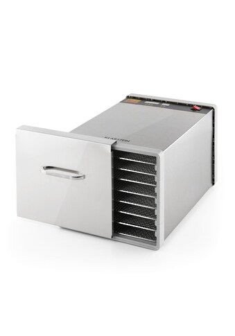 Klarstein Dörrautomat Dörrgerät Dehydrator 630W 8 Etagen Fleisch Gemüse »Fruit Jerky Pro 8« kaufen