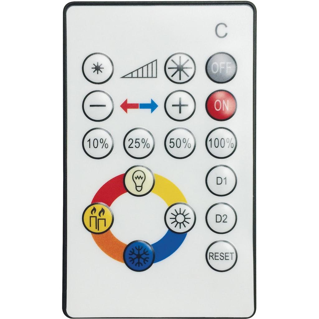 EGLO LED Deckenleuchte »VOLTAGO2«, LED-Board, Extra-Warmweiß-Kaltweiß-Neutralweiß-Tageslichtweiß-Warmweiß, Steuerung über Fernbedienung, CCT