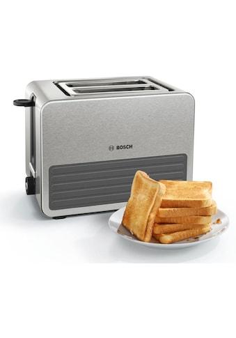 BOSCH Toaster »TAT7S25«, 2 kurze Schlitze, für 2 Scheiben, 1050 W kaufen