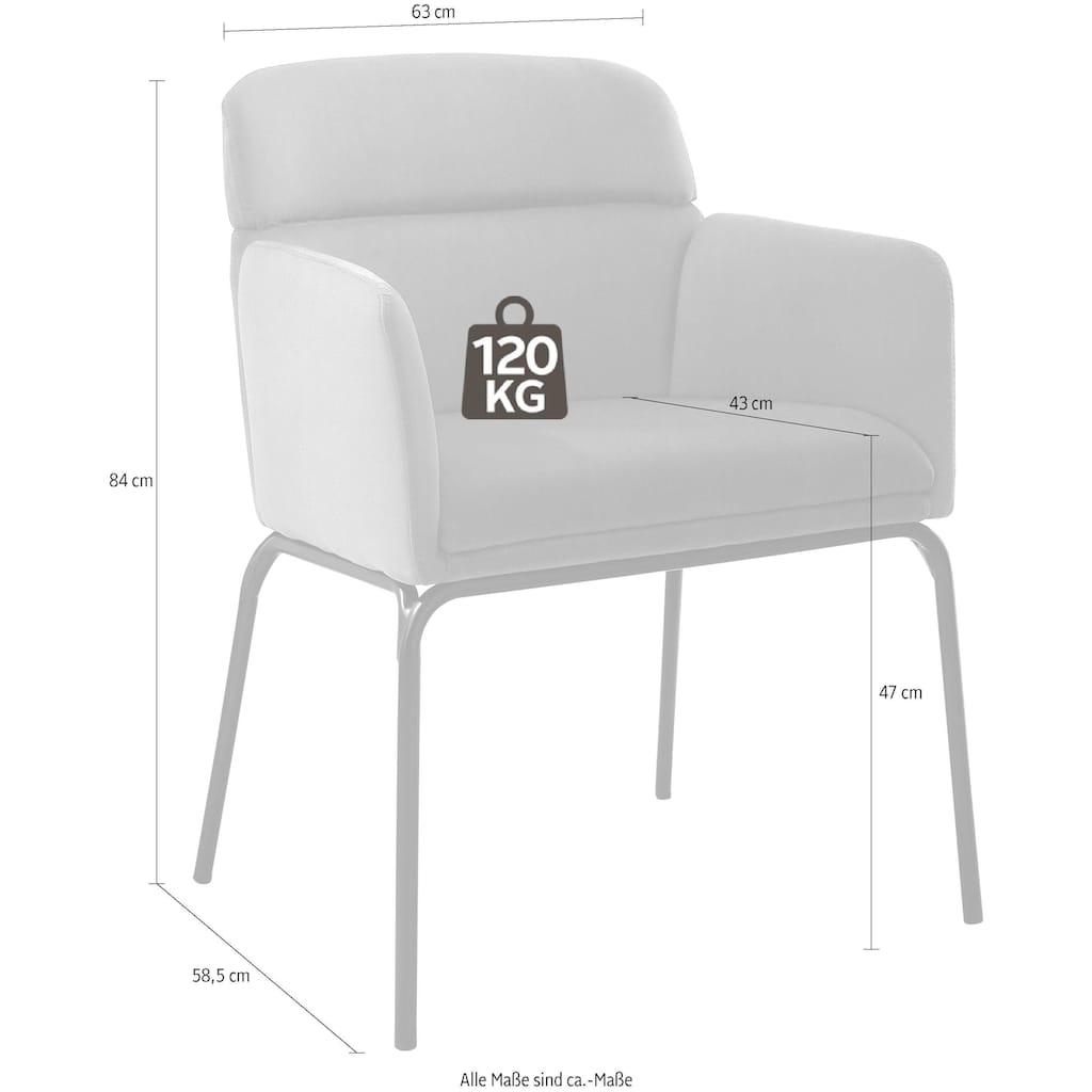 andas Esszimmerstuhl »Vejen«, in zwei verschiedenen Bezügen, Design by Morten Georgsen