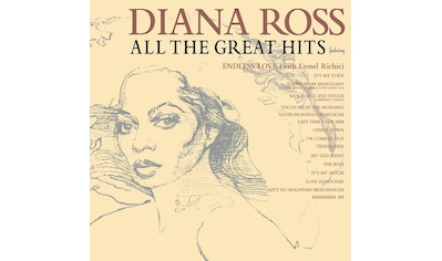 Musik-CD »ALL THE GREAT HITS / ROSS,DIANA« kaufen