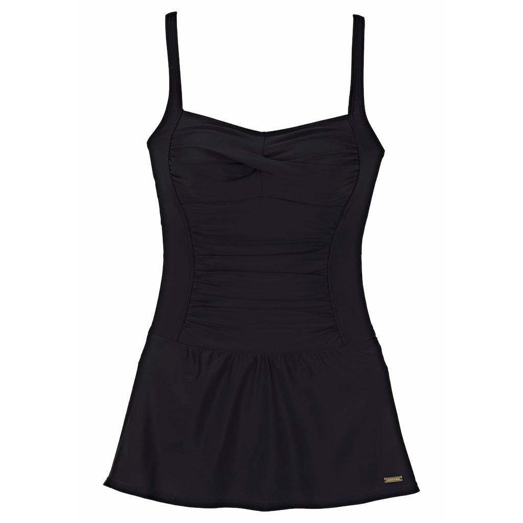 LASCANA Badekleid, mit modischen Raffungen und Shaping-Effekt