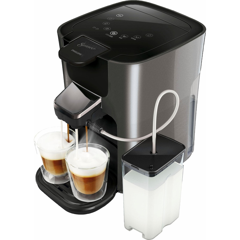 Senseo Kaffeepadmaschine HD6574/50 Latte Duo