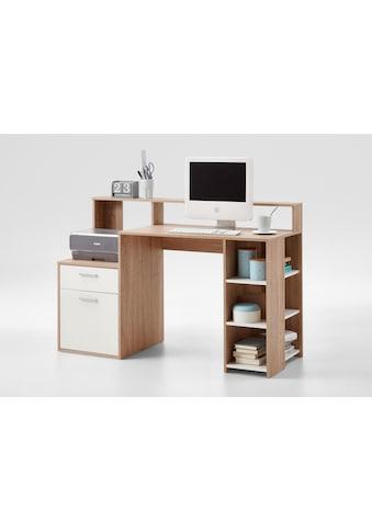 FMD Regal-Schreibtisch »Bolton«, mit 3 offenen Fächern kaufen