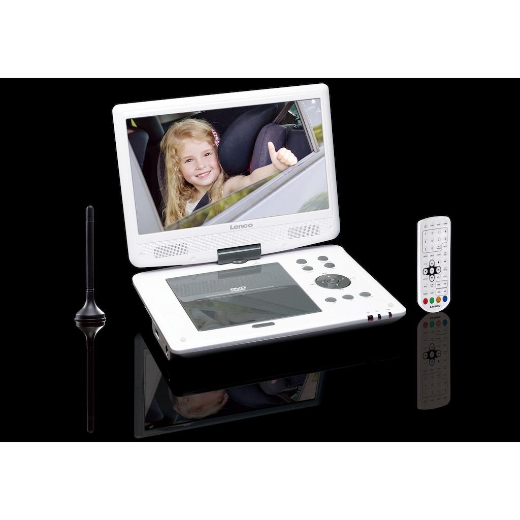 Lenco Portabler DVD-Player »DVP-1063WH«, DVB-T2 Tuner