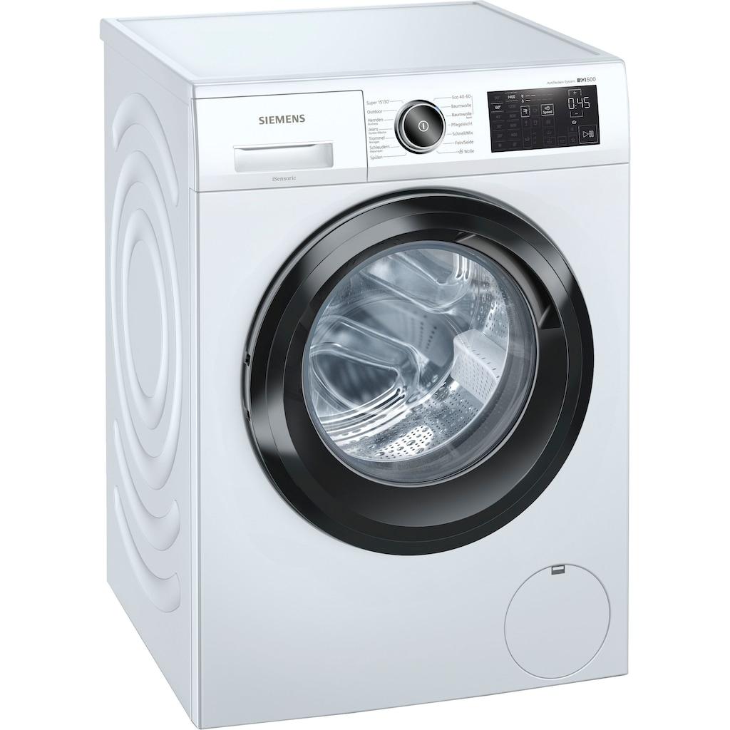 SIEMENS Waschmaschine »WM14URFCB«, iQ500, WM14URFCB, 9 kg, 1400 U/min