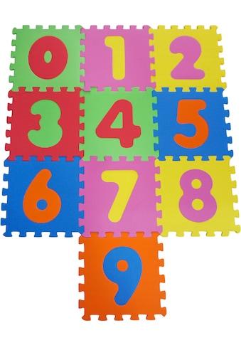 Knorrtoys® Puzzle »Zahlen«, Puzzlematte, Bodenpuzzle kaufen