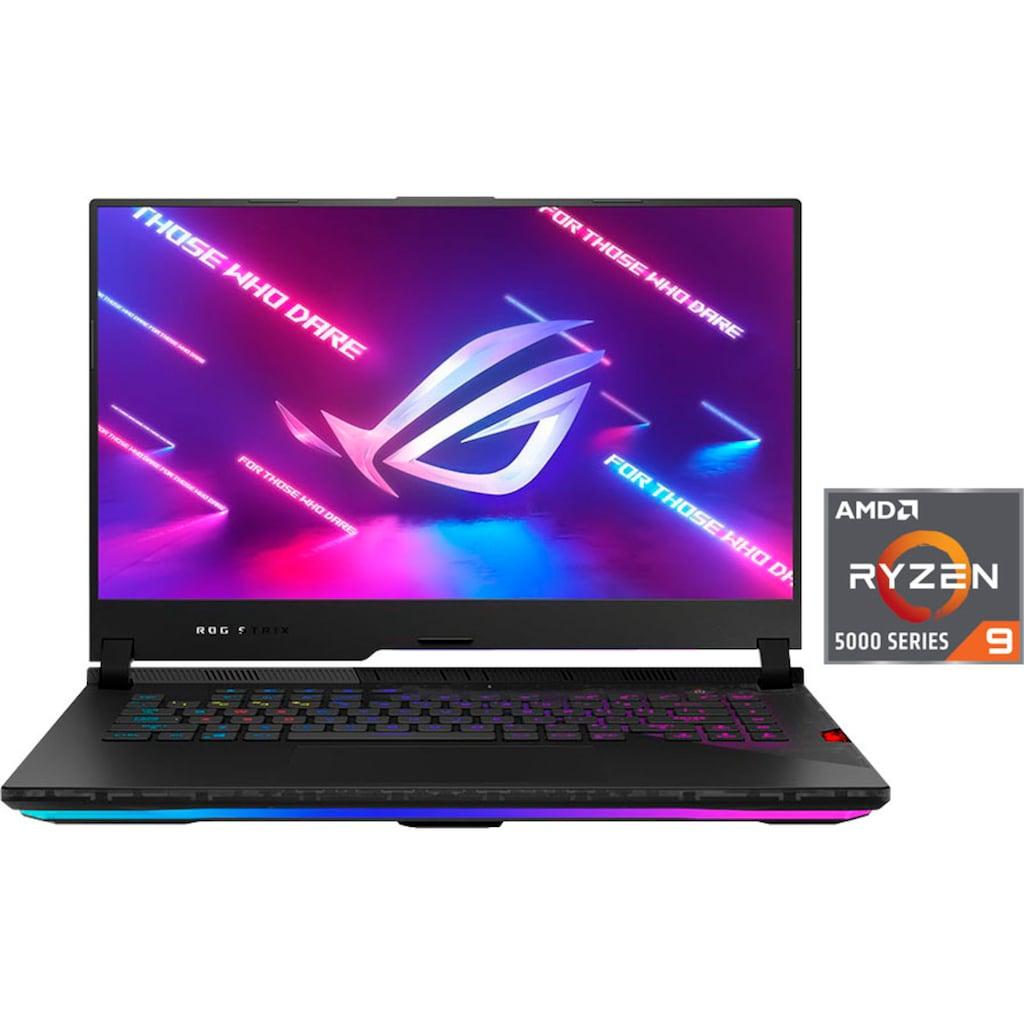 """Asus Notebook »G533QS-HF222T«, (39,6 cm/15,6 """" AMD Ryzen 9 GeForce RTX™ 3080\r\n 1000 GB SSD), Kostenloses Upgrade auf Windows 11, sobald verfügbar"""