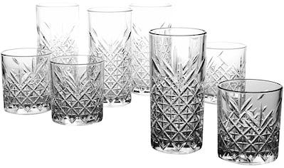 CreaTable Gläser-Set »TIMELESS«, (Set, 8 tlg.), 8-teilig kaufen