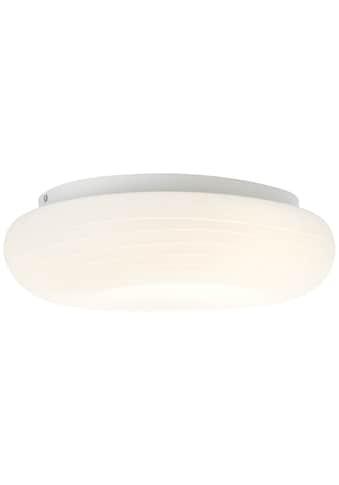 Brilliant Leuchten Pebbles LED Deckenleuchte 48x34cm weiß kaufen
