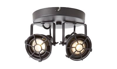 Brilliant Leuchten Jesper LED Spotrondell 2flg schwarz korund kaufen