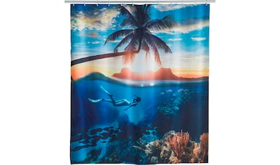 WENKO Duschvorhang »Underwater«, Breite 180 cm, Höhe 200 cm, Polyester, waschbar kaufen